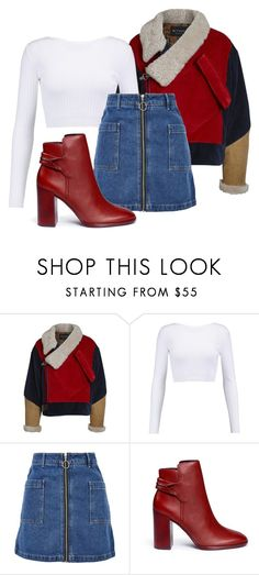"""""""Untitled #284"""" by lifewith-d on Polyvore featuring Etro, Cushnie Et Ochs, Topshop and Mercedes Castillo"""