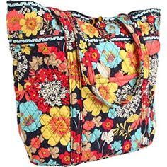Vera Bradley - Vera Tote- pattern Happy Snails- I love this pattern, so sad it's being discontinued.