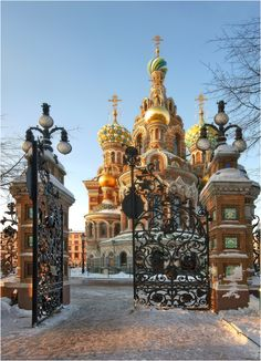Church of The Savior on Blood, Russia ;don't ever say goodbye