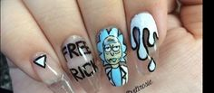 These nail art are so awesome and so beautifully done. Props to these girls.