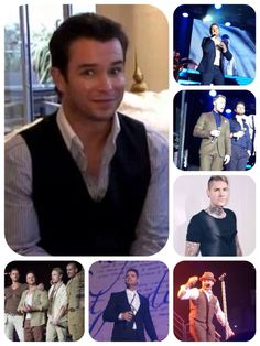 Boyzone. Collage not made by me.