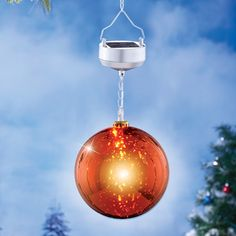 Solar Lighted Hanging Ornament