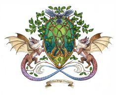 Lamhanhe Coat of Arms by windfalcon.deviantart.com on @DeviantArt