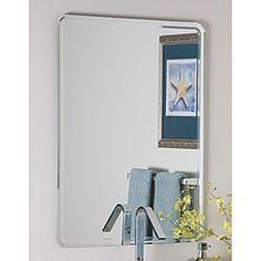 samson large frameless mirror