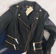 ⭐️ Michael Kors kožená bunda ⭐️ Tommy Hilfiger, Gucci, Leather Jacket, Michael Kors, Nike, Jackets, Fashion, Studded Leather Jacket, Moda