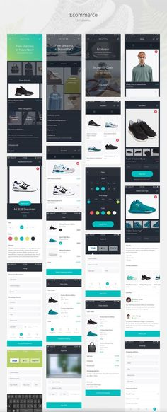 UI8 — Products — Routes iOS UI Kit:
