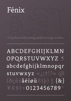 Man, is this right up my alley, or what? Fénix by Fernando Díaz, via Behance (free)