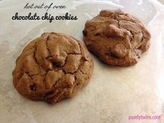 Single serving cookies...easy to substitute some of the ingredients to make them vegan.