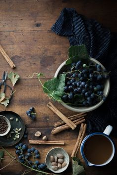 Mulled Spiced Concord Grape Cider - The Kitchen McCabe