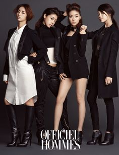Girl's Day - L'Officiel Hommes Magazine January Issue '14