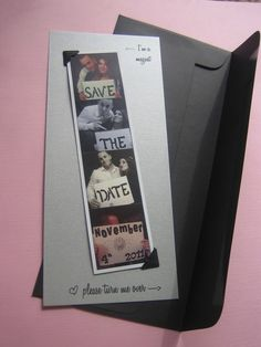 Photobooth Save the Date / Thank You Magnet by LovebirdsPaperee, $2.75