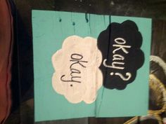 The fault in our stars pallet sign (hoc made 8-14)