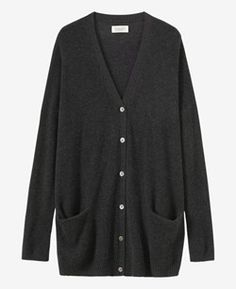 Long Cashmere/Wool Cardigan | TOAST
