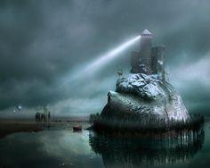 Modern Surrealism Fantasy Art 3D Pictures: George Grie 3d wallpaper