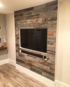 Shiplap Wall - Transform any room with real wood quickly and cost-effectively. Economical, environmentally responsible, and endless creative design solutions.  #whatishiplap #ShiplapWall