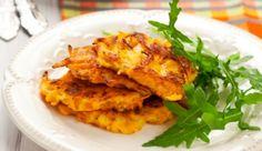 Zucchini-Karotten-Puffer