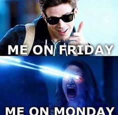I'm not obsessed with the Flash (and Supergirl) 9gag Funny, Funny Monday Memes, Monday Humor, Stupid Funny Memes, Funny Relatable Memes, Funny Drunk, Drunk Texts, Friday Memes, Monday Quotes