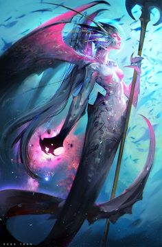 ArtStation - Mermaid!, Ross Tran