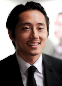 dailytwdcast:  Steven Yeun attends the 'I Origins' screening at Sunshine Landmark on July 10, 2014 in New York City.