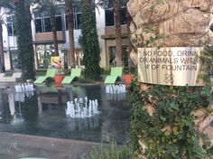 It's so nice to be in a place that can have dancing water year round. Scottsdale, Arizona