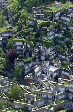 Housing Complex by Jean Renaudie, Paris