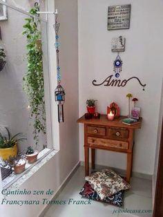 Meditation Corner, Meditation Space, Prayer Corner, Feng Shui House, Home Altar, Ideas Hogar, Room Inspiration, Sweet Home, Decoration
