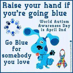 Light It Up Blue #AutismAwareness #WorldAutismDay