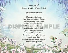 Hummingbird Personalized Poem for Sister Keepsake Gift Poems For My Sister, Sister Quotes, Baby Sister, Childhood Poem, Childhood Memories, Sweet Quotes, Hummingbird Art