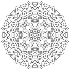 Marvelous Free Printable Abstract Coloring Pages 95 Free differcult Printable Mandalas
