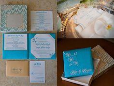 Kim and Brian's Tiffany Blue Fantasy Wedding at the Hotel Del Coronado | Simply Posh Design