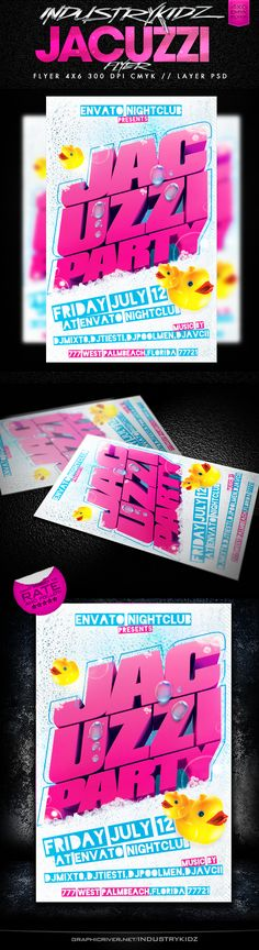 Techno Flyer | Party Events, Flyer Template And Aliens