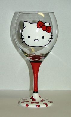 Hello kitty wine glass! I need :)