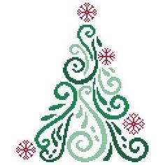 Cross Stitch Thread, Cross Stitch Samplers, Counted Cross Stitch Patterns, Cross Stitch Designs, Cross Stitching, Christmas Afghan, Cross Stitch Christmas Ornaments, Christmas Cross, Pony Bead Patterns