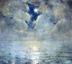 Moonlight Scene  Emil Carlsen
