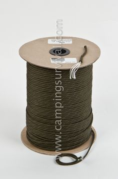 Gladding Olive Drab Reflective Tracer U.S. Made Paracord - 1000 FeetOnly $33.60*Price subject to change without notice.