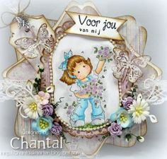 Cards made by Chantal: Voor jou van mij...