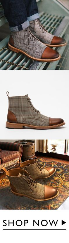 Men's Shoes Adaptable New 2018 Fashion Spring Autumn Canvas Shoes Men Ankle Boots Lace-up Thick Sole Classic Mens Boots Male Zapatos Hombre Mens Flat Fancy Colours