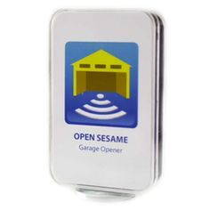 Open Sesame is the smart phone app that can transform your mobile devices into #garage remotes easily and securely. For more information visit: https://www.mygarageopener.com/android-garage-door-opener-app/