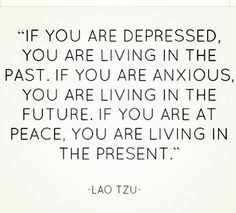 being in the present :)