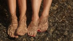 Feet in the water :)