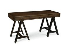 For Pennsylvania House Console Desk And Other Home Office Desks At Gibson Furniture In Andrews Nc Middle Drawer Drop Front Keyboard