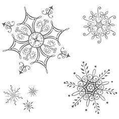 snowflake drawings | Serene Snowflakes #115438 $20.95