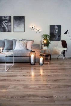 Sofa 'Newman' im Wohnzimmer der Bloggerin easyinterieur