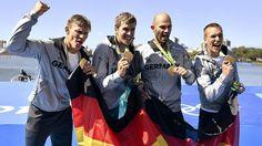 Im Schießen und Rudern | Endlich! Gold-Regen in Rio - Olympia 2016 - Bild.de