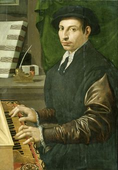 Portrait of a man playing a virginal, Francesco Traballesi, 1554 - 1570 - Rijksmuseum French Paintings, Beautiful Paintings, 16th Century Fashion, Baroque Painting, Late Middle Ages, Music Painting, Renaissance Paintings, Popular Culture, Art History