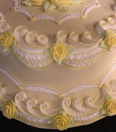 "Victorian Wedding CAKES   Victorian Ruffle & Roses"" - Cake Decorating Community - Cakes We ..."