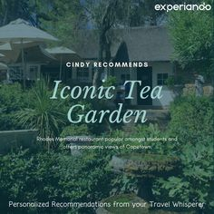 Iconic Tea Garden: Check out this recommendation from our member Cindy for Rhodes Memorial Restaurant in Cape Town! For more similar recommendations, be sure to check out www. Rhodes, Cape Town, Traveling By Yourself, Restaurant, Memories, Tea, Check, Garden, Memoirs