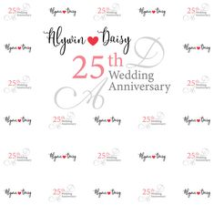 Wedding Step and Repeat Wedding Anniversary, Repeat, Backdrops, How To Memorize Things, Templates, Math, Prints, Marriage Anniversary, Stencils