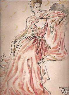 Rene-Bouet-Willaumez-Rene-Bouche-Illustrated-Fashion-Editorial-Spring-1949