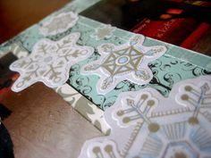 scrapbook snowflakes